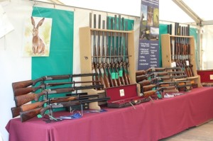 Bespoke, new, used shotgun sales display