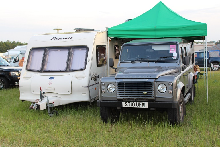Overnight accommodation at the game fair
