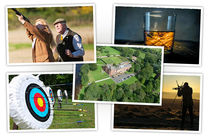 Customise your shooting experience, mix and match packages, choose activities and accommodation