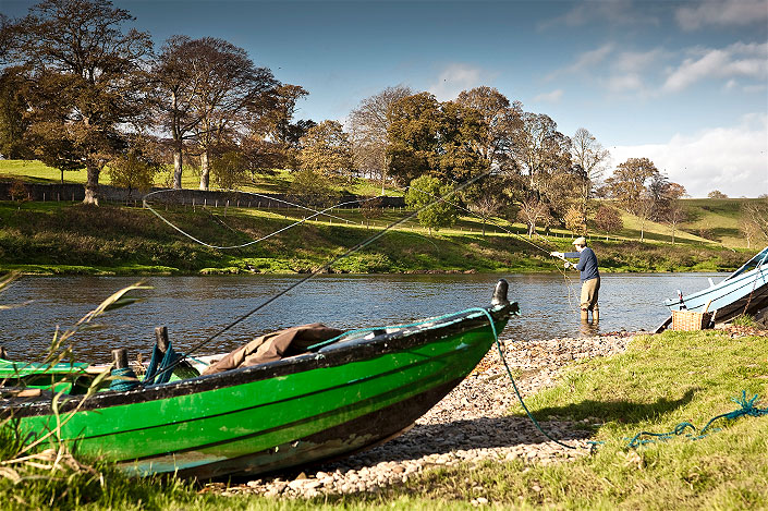 Salmon and trout fly fishing packages in Scotland