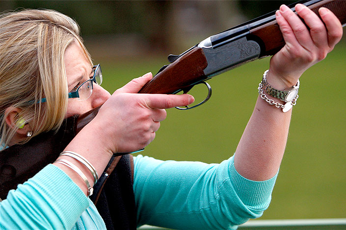 Luxury novice game shooting days in Scotland