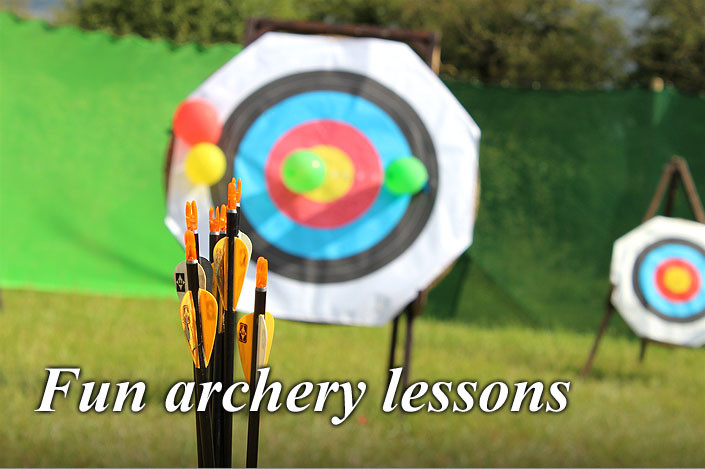 Archery lessons with an experienced and qualified instructor