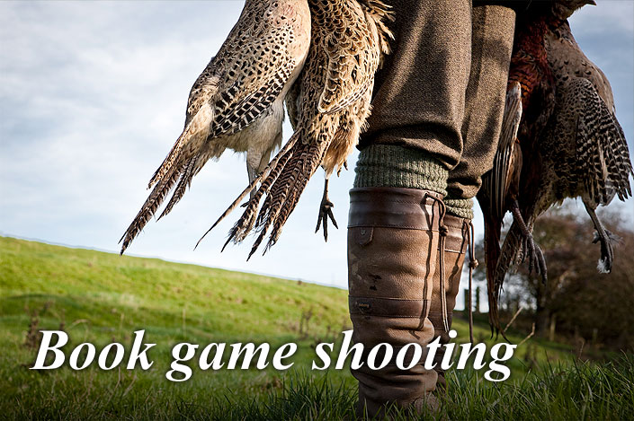 Book or customise a game shooting package