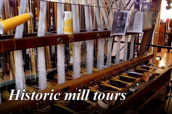 Take in a tour of a historic Borders textile mill