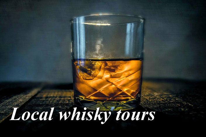 Try a dram of local whisky