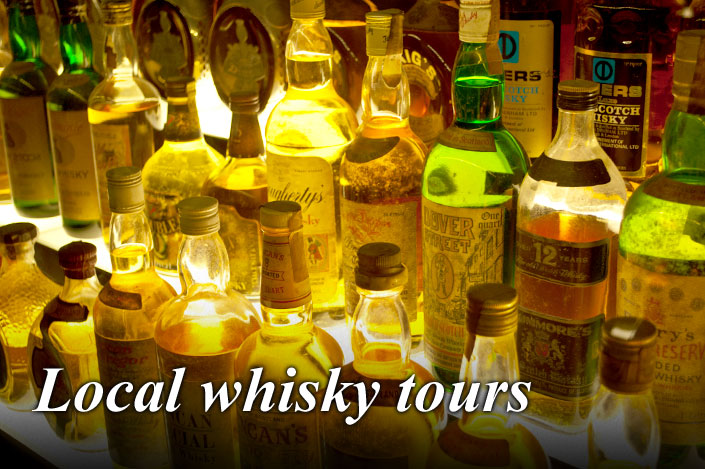 Private tours and Whisky tastings for small groups